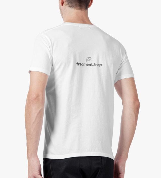 Medicom Toy White/Pink BEARTEE x fragment design T-Shirt