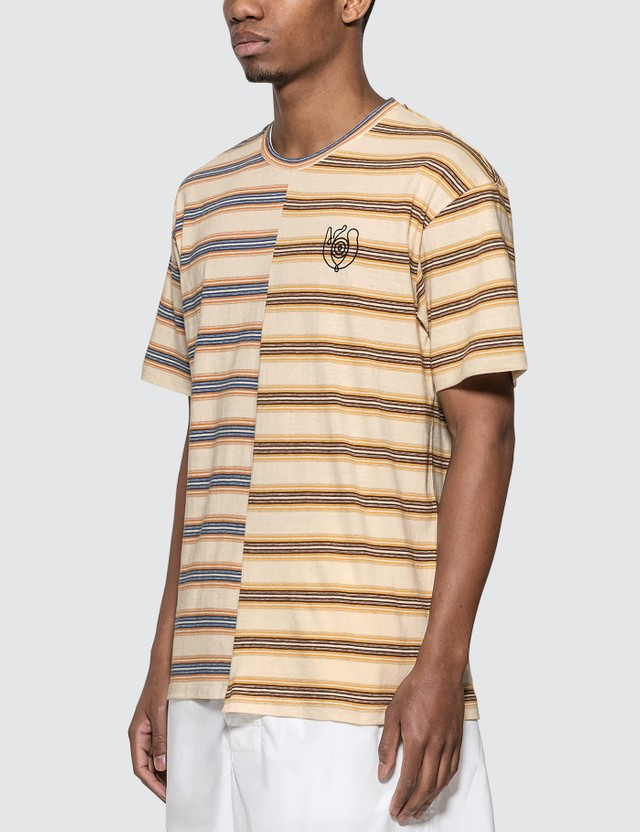 Loewe ELN Stripe Asymmetric T-Shirt