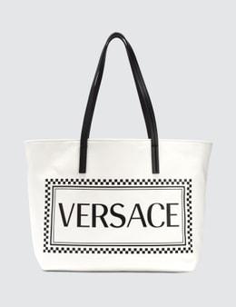 Versace Canvas Versace Logo Tote Bag Picture