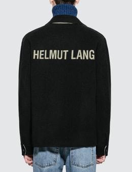 Helmut Lang Logo Zip Blouson