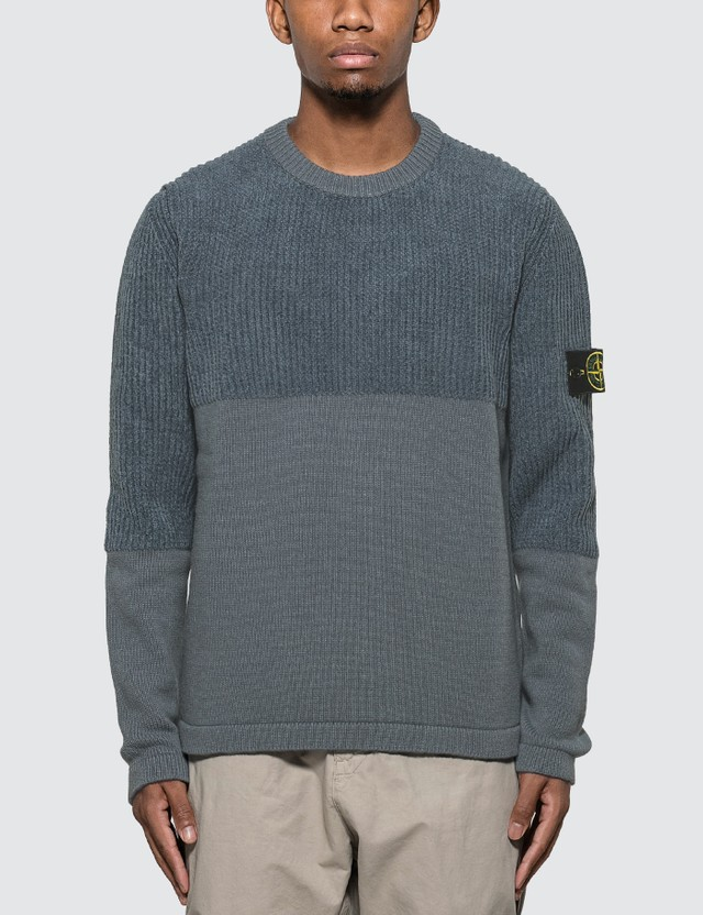 Stone Island Combo Knit Sweater