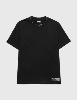 Pleasures Cut Here Heavy Weight T-Shirt
