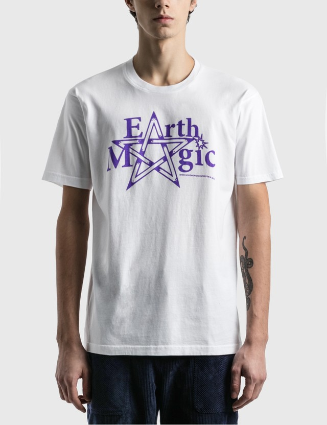 Good Morning Tapes Earth Magic T-Shirt White Men