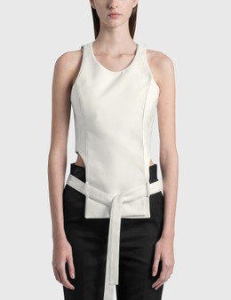 We11done Waist Cut-out Top