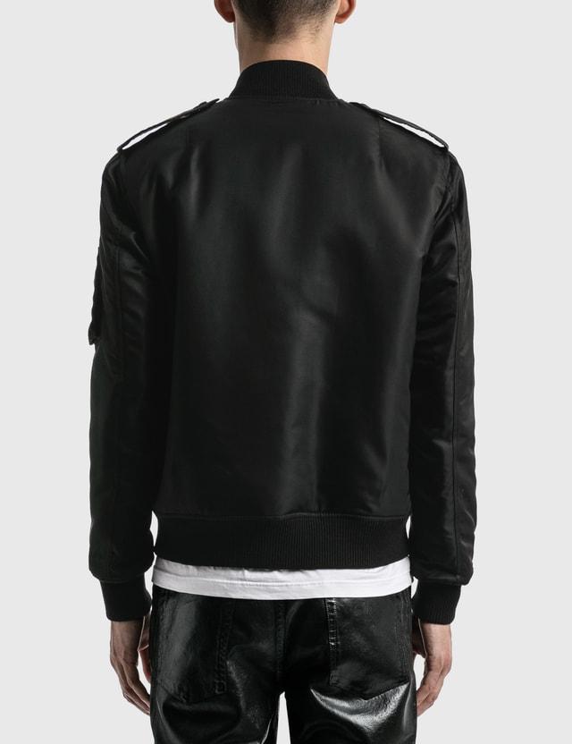 Saint Laurent Bomber Jacket Noir Men