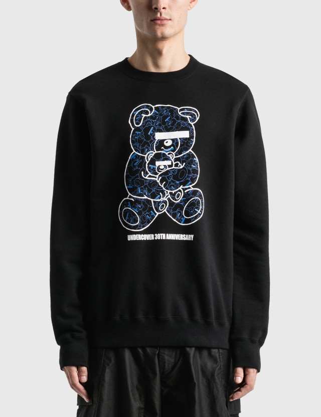 Undercover U Bear Bear 30th Anniversary Sweatshirt Black Men