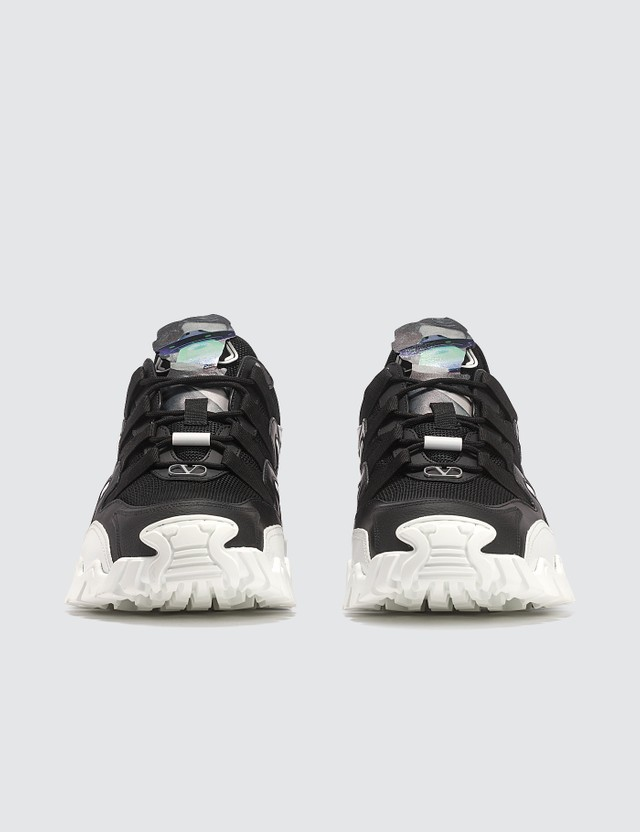 Valentino Valentino x Undercover Climbers Face Logo Sneakers