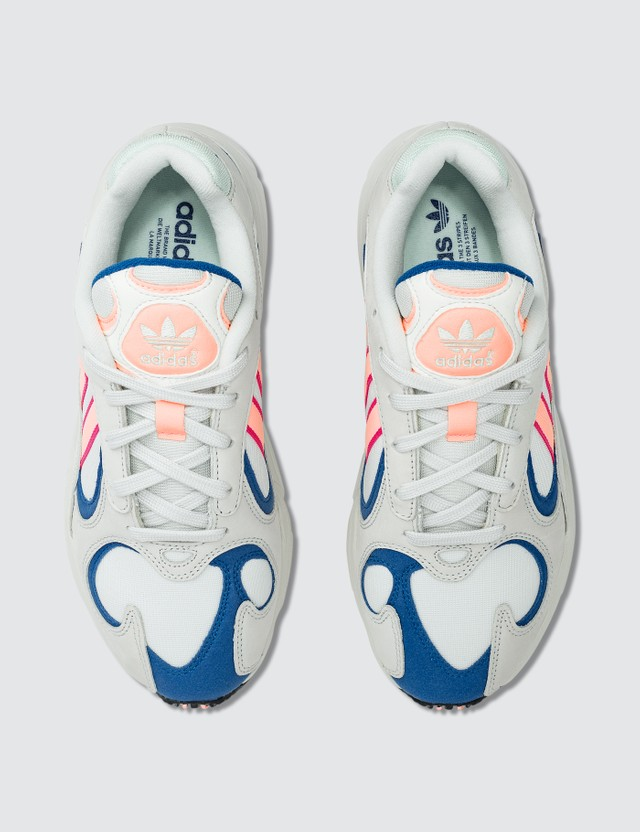 Adidas Originals Yung-1 Crystal White/clear Orange/collegiate Royal Men