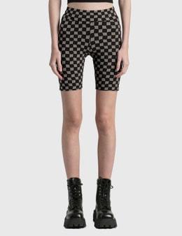 Misbhv Monogram Lara Biker Shorts
