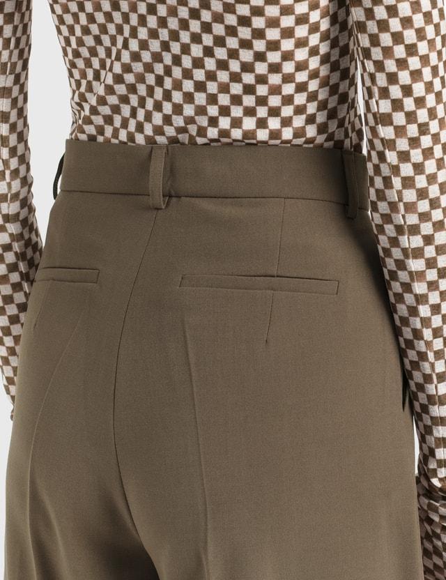 Nanushka Cleo Pants Clay Women