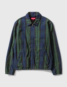 Supreme Supreme Checked Zip Up Jacket