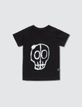 NUNUNU Skull Mask Patch S/S T-Shirt Picutre