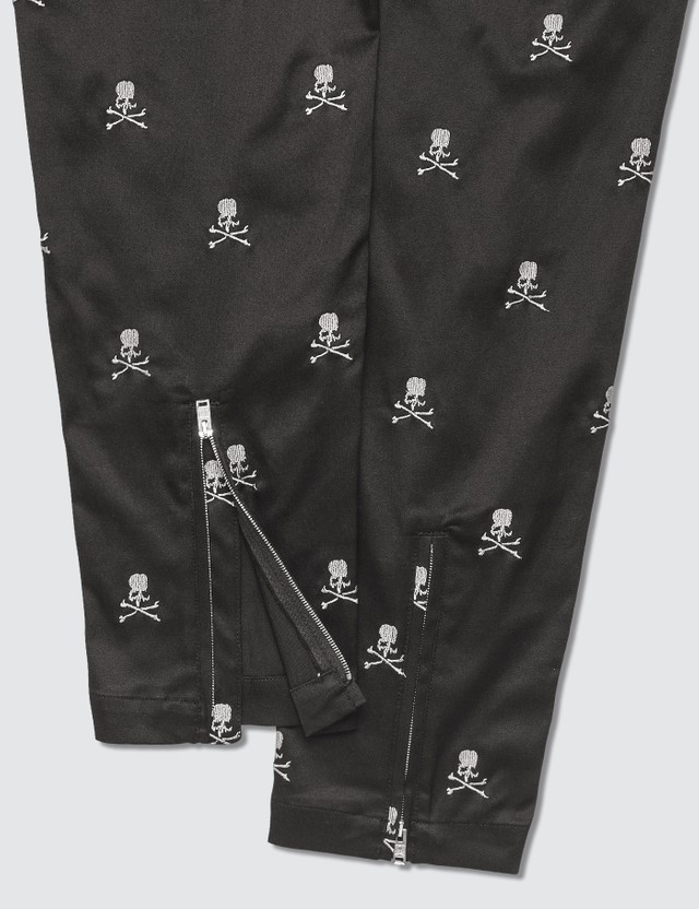 Mastermind World Allover Print Slim Skull Pants