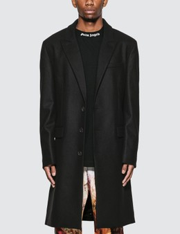 Palm Angels Logo Classic Coat