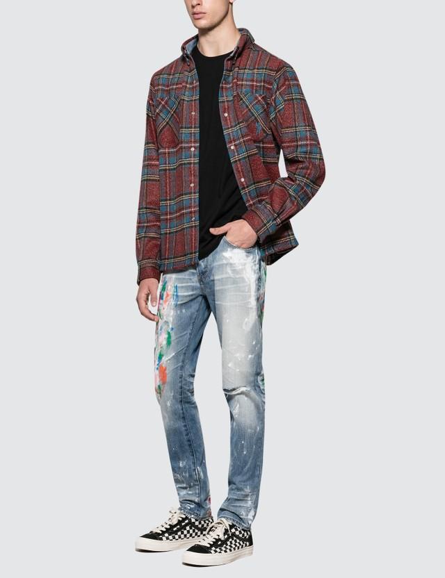 Billionaire Boys Club Check Flannel Shirt