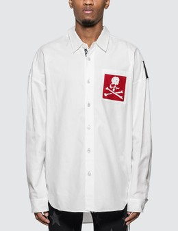 Mastermind World Skull Pocket Oxford Shirt