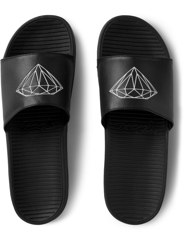 Diamond Supply Co. Black Fairfax Slide