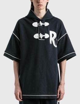 Emporio Armani Cotton Short Sleeve Hoodie