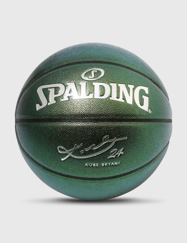 Spalding Kobe Bryant Green Composite Leather Size 7 Basketball