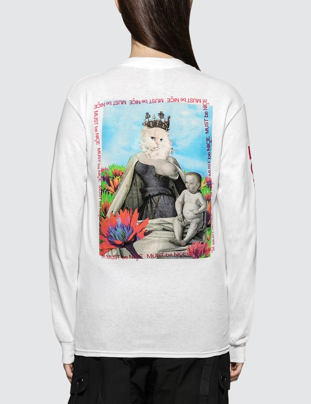 RIPNDIP Fouquet Madonna Long Sleeve T-shirt
