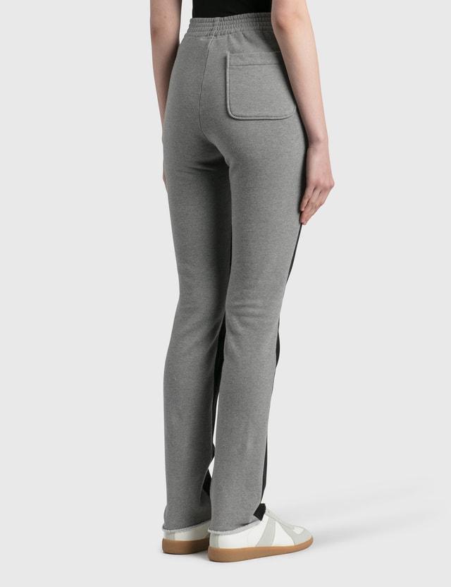 MM6 Maison Margiela Bonded 스웨트 청바지 Black + Grey Women