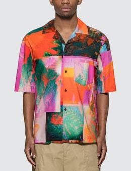 Acne Studios Abstract Botanical Print Shirt
