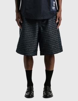 Emporio Armani NewLife Nylon Oversized Bermuda Shorts