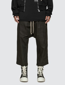 Rick Owens Drkshdw Drawstring Cropped Track Pants