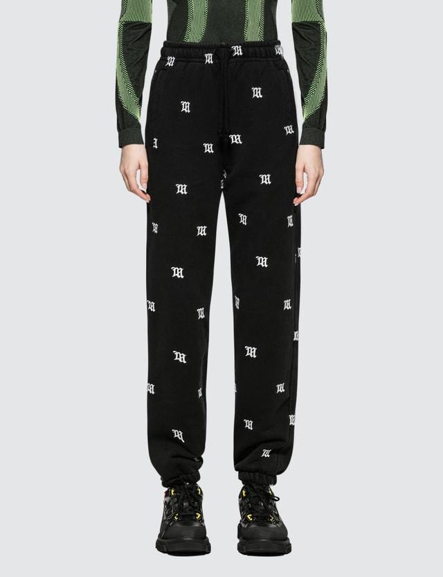 Misbhv Monogram Embro Sweatpants