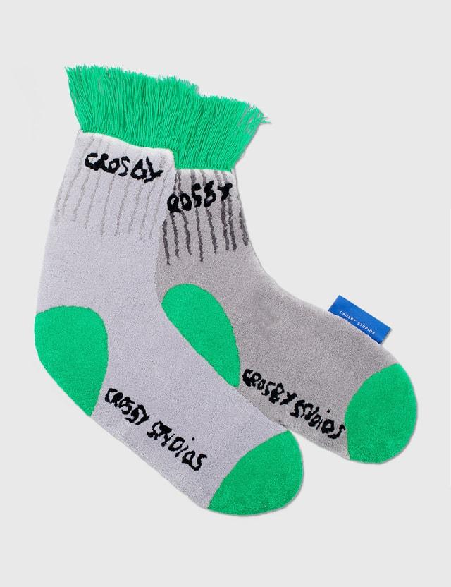 Crosby Studios Socks Carpet Grey Men