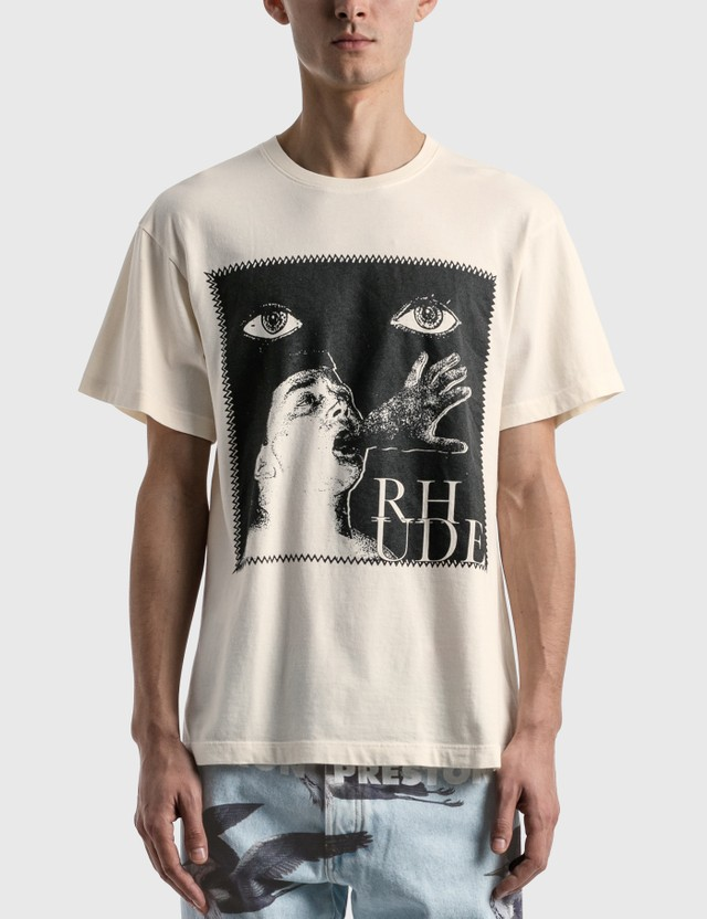 Rhude Post Stamp T-shirt White Men