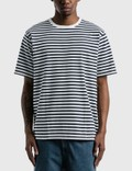 Nanamica Coolmax Striped Jersey T-shirt Picutre