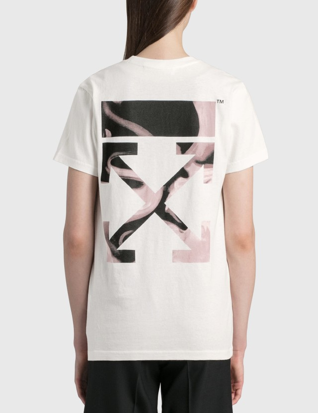 Off-White Arrow Liquid Melt Casual T-shirt Off White Women
