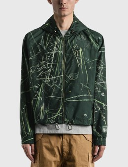 Reese Cooper Ripstop Zipped Hooded Jacket