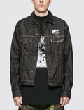 Off-White Arrow Slim Denim Jacket Picture