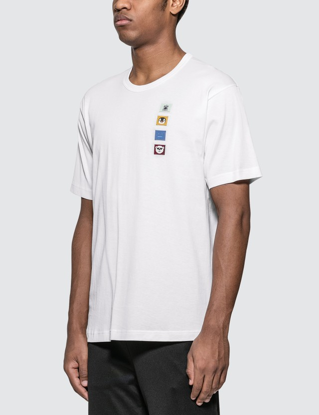 Acne Studios Nash Animal Patch Face T-Shirt