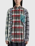 Needles 7 Cuts Wide Flannel Shirt Picture