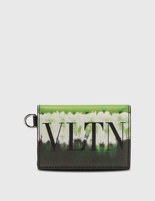 Valentino Valentino Garavani VLTN Logo Wallet With Strap