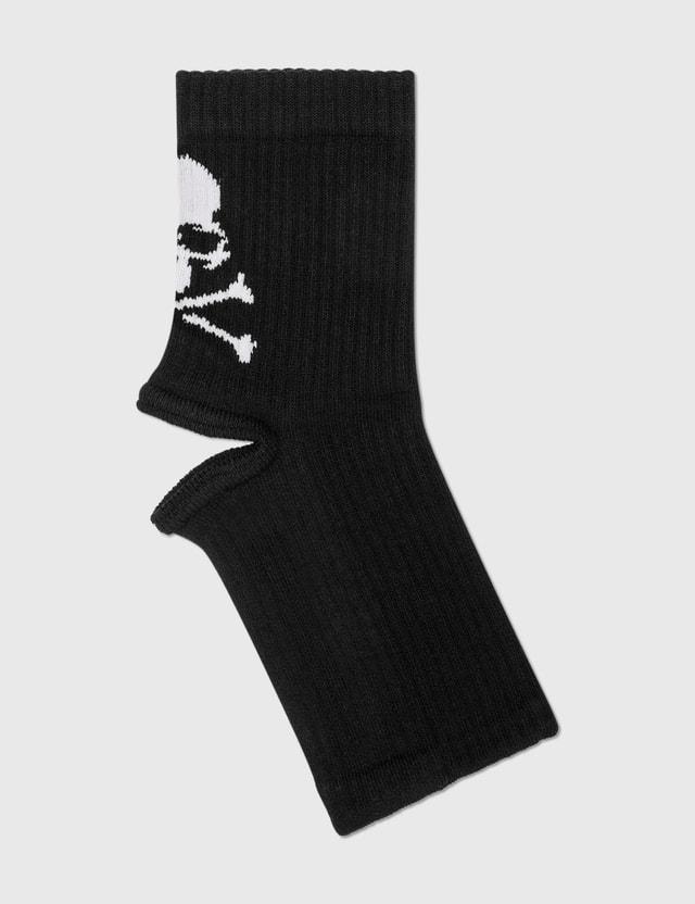 Mastermind World Open Heel Socks Black Men