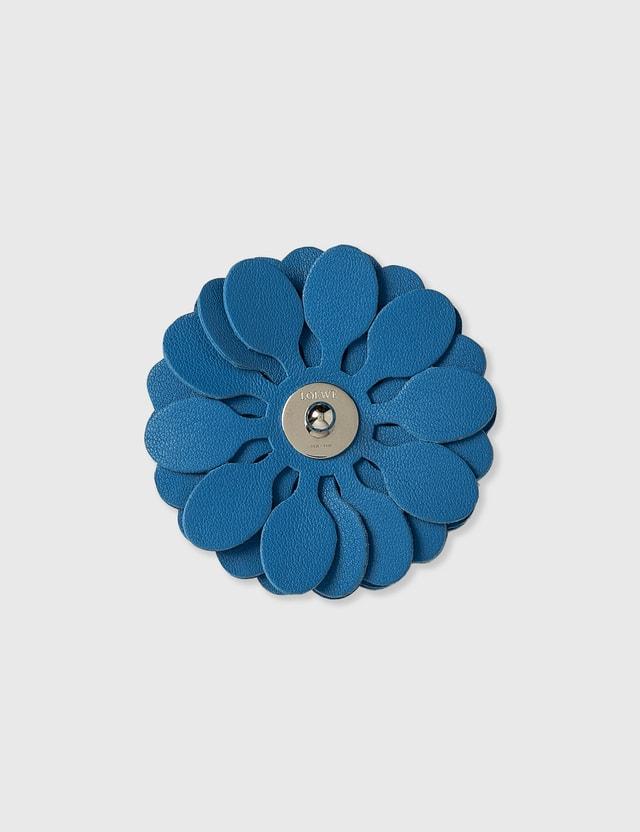Loewe Stud Flower Charm Caribbean Blue Women