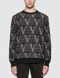 Undercover Valentino x Undercover Allover V Face Sweatshirt Picutre