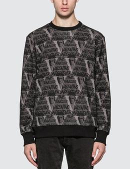 Undercover Valentino x Undercover Allover V Face Sweatshirt