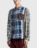 Needles 7 Cuts Flannel Shirt =e44 Men