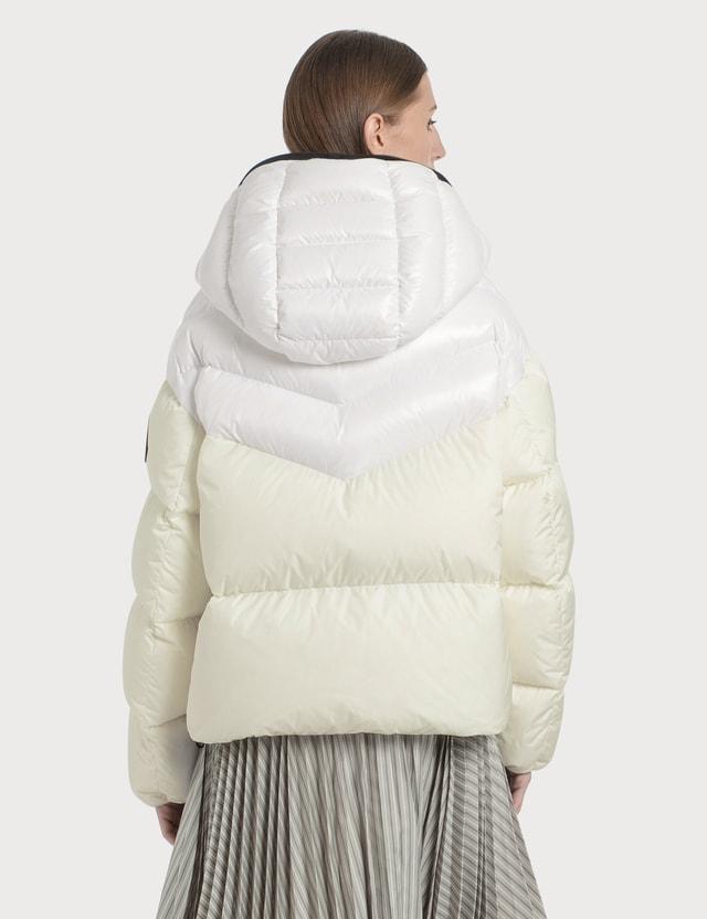Moncler Guenioc Down Jacket White Women