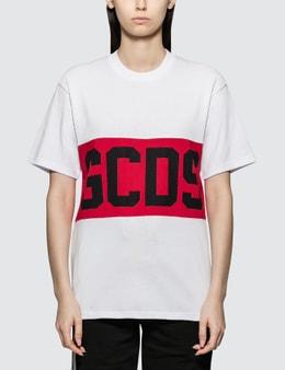 GCDS Macro Logo Band T-shirt