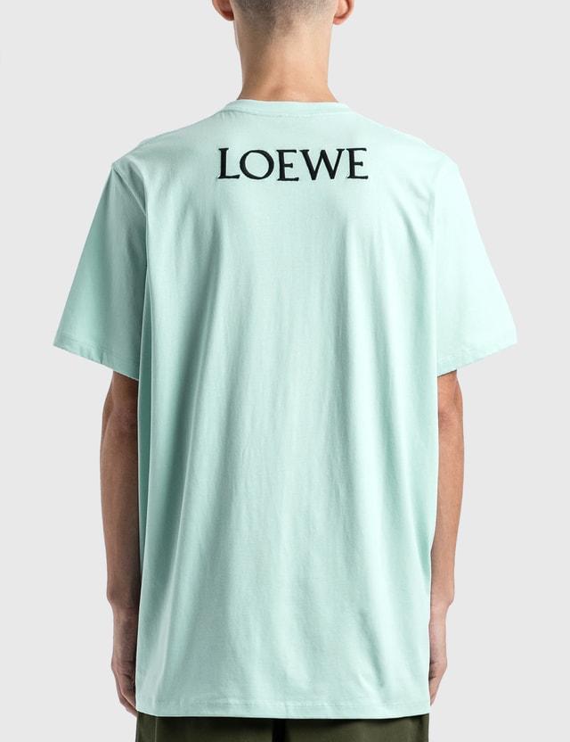 Loewe Goose Oversized T-Shirt Baby Blue Men