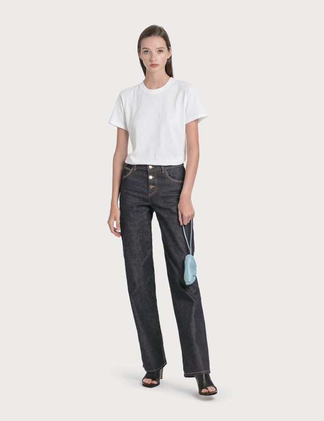 Bottega Veneta Denim Straight Jeans