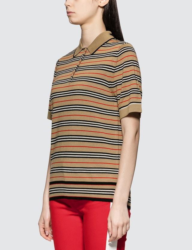 Burberry Merino Wool Polo Shirt