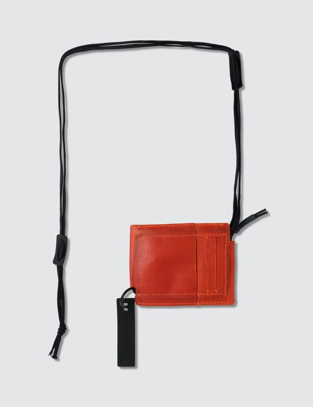 Guerrilla-group Transparent Leather Cardholder