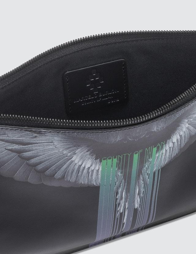 Marcelo Burlon Wings Barcode Pochette